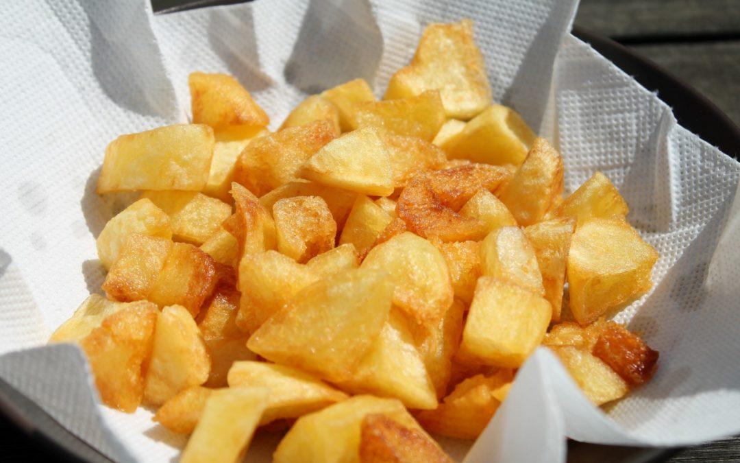Egyszerű sült krumpli